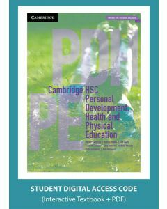 Cambridge HSC Personal Development Health and Physical Education (Digital Access Code)