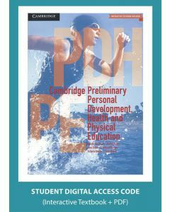 Cambridge Preliminary Personal Development Health and Physical Education (Digital Access Code)