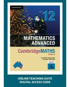 CambridgeMATHS Mathematics Advanced Year 12 Online Teaching Suite