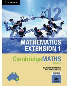 [Pre-order] CambridgeMATHS Mathematics Extension 1 Year 12 (print and interactive textbook) [Due Sep 2019]