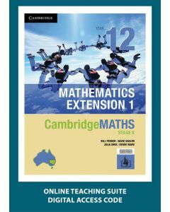 [Pre-order] CambridgeMATHS Mathematics Extension 1 Year 12 Online Teaching Suite [Due Oct 2019]