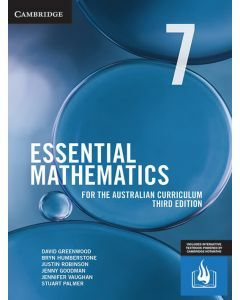 [Pre-order] Essential Mathematics Australian Curriculum Year 7 3e (print and interactive textbook) [Due Sep 2019]