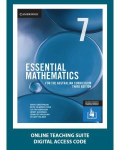 [Pre-order] Essential Mathematics Australian Curriculum Year 7 3e Online Teaching Suite Code [Due Nov 2019]