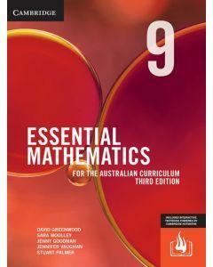 Essential Mathematics Australian Curriculum Year 9 3e (print and interactive textbook)