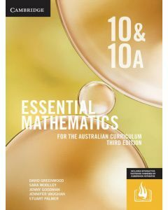 Essential Mathematics Australian Curriculum Year 10&10A 3e (print and interactive textbook)