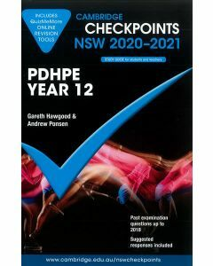 Cambridge Checkpoints Year 12 PDHPE 2020-2021