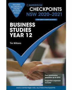 Cambridge Checkpoints Year 12 Business Studies 2020-2021