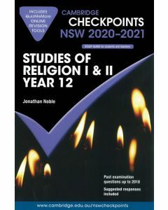 Cambridge Checkpoints Year 12 Studies of Religion I & II 2020-2021