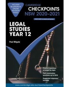Cambridge Checkpoints Year 12 Legal Studies 2020-2021