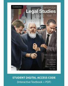 Cambridge Legal Studies Stage 6 Year 11 5e digital (Access Code)