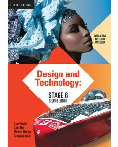 [Pre-order] Design and Technology Stage 6 2e print and interactive textbook [Due Aug 2020]