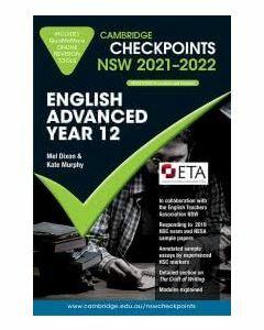 Cambridge Checkpoints NSW English Advanced Year 12 2021-2022
