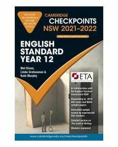 Cambridge Checkpoints NSW English Standard Year 12 2021-2022