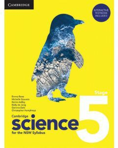 [Pre-order] Cambridge Science for NSW Stage 5 (print & digital) [Due Sep 2021]