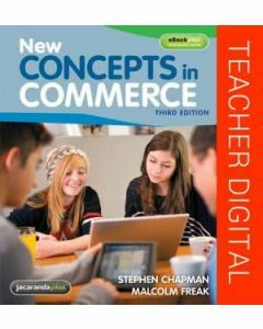 New Concepts in Commerce 3E eGuidePLUS (Digital Only)