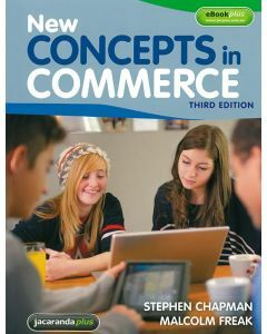 New Concepts In Commerce 3rd Edition Print & eBookPLUS [Out Of Print]