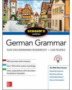 Schaum's Outline of German Grammar 6e