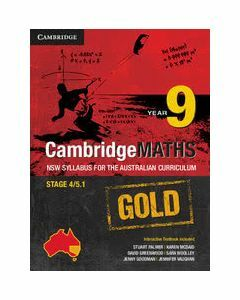 CambridgeMATHS GOLD NSW for AC Year 9 (print and digital)