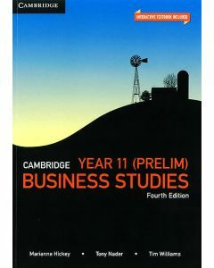 Cambridge Business Studies Year 11 (Print & Digital)