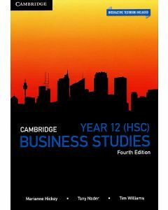 Cambridge Business Studies Year 12 4e (Print & Interactive Textbook)