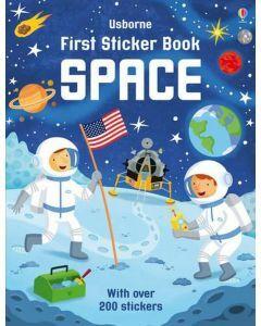 Usborne First Sticker Book - Space (Ages 3+)