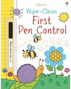 Usborne Wipe- Clean First Pen Control