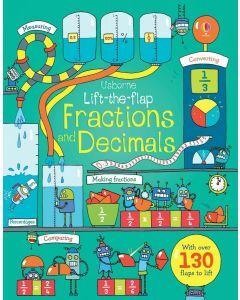 Usborne Lift-the-flap Fractions and Decimals