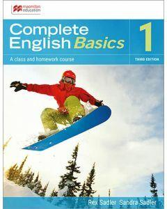 Complete English Basics 1: 3rd ed Student Book