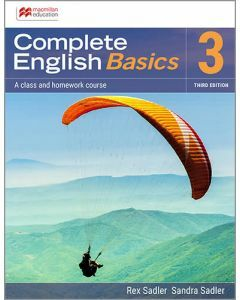 Complete English Basics 3: 3rd ed Student Book + Online Workbook