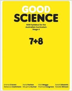 [Pre-order] Good Science NSW Stage 4 Student Book + Digital [Due Aug 2019]