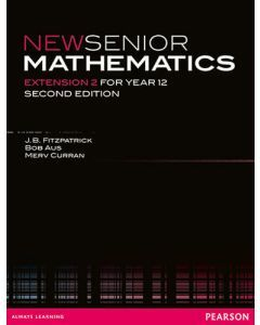 New Senior Mathematics Extension 2 (2e) (Hard Copy)