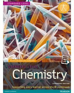 Pearson Baccalaureate Chemistry Standard Level (Book + eText Bundle) (2e)