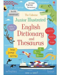 Junior Illustrated English Dictionary & Thesaurus