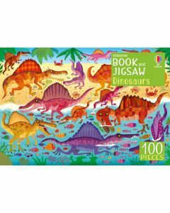 Usborne Book and Jigsaw: Dinosaurs 100 Pieces (Ages 5+)
