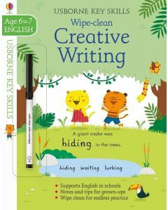 Usborne Key Skills: Wipe Clean Creative Writing (Ages 6-7)