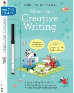 Usborne Key Skills: Wipe Clean Creative Writing (Ages 7-8)