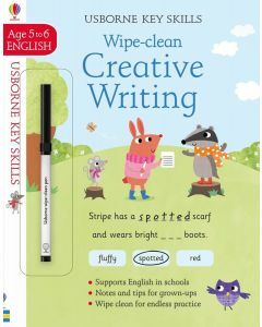 Usborne Key Skills: Wipe- Clean Creative Writing (Ages 5-6)