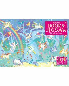 Usborne Book and Jigsaw: Unicorns 100 Pieces (Ages 5+)