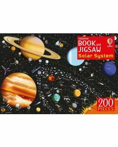 Usborne Book and Jigsaw: Solar System 200 Pieces (Ages 6+)
