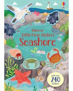 Usborne Little First Stickers - Seashore (Ages 3+)
