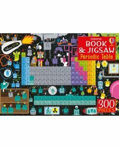 Usborne Book and Jigsaw: Periodic Table 300 Pieces (Ages 7+)