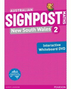 Australian Signpost Maths NSW 2 Interactive Whiteboard DVD