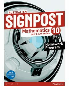 Australian Signpost Maths NSW 10.3 Homework Program