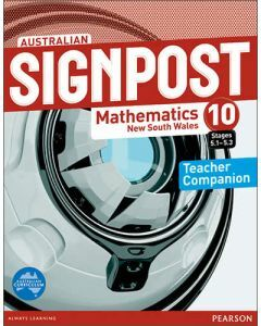 Australian Signpost Mathematics New South Wales 10 (5.1-5.3) Teacher Companion