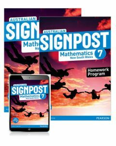 Australian Signpost Mathematics New South Wales 7 Student Book and Homework Program with Reader+