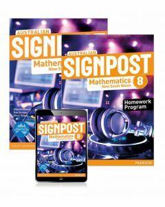 Australian Signpost Mathematics NSW 8 Student Book, eBook and Homework Program