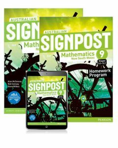 Australian Signpost Mathematics New South Wales 9 (5.1-5.2) Student Book and Homework Program with Reader+