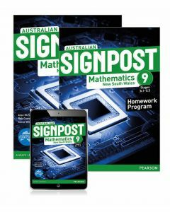 Australian Signpost Mathematics NSW 9 (5.1-5.3) Student Book, eBook and Homework Program