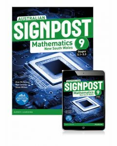 Australian Signpost Mathematics NSW 9 (5.1-5.3) Student Book with eBook