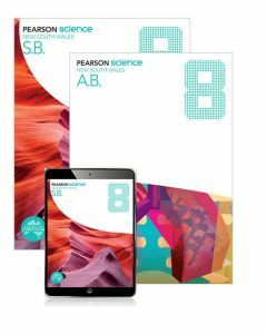 Pearson Science NSW 8 Student Book, eBook and Activity Book